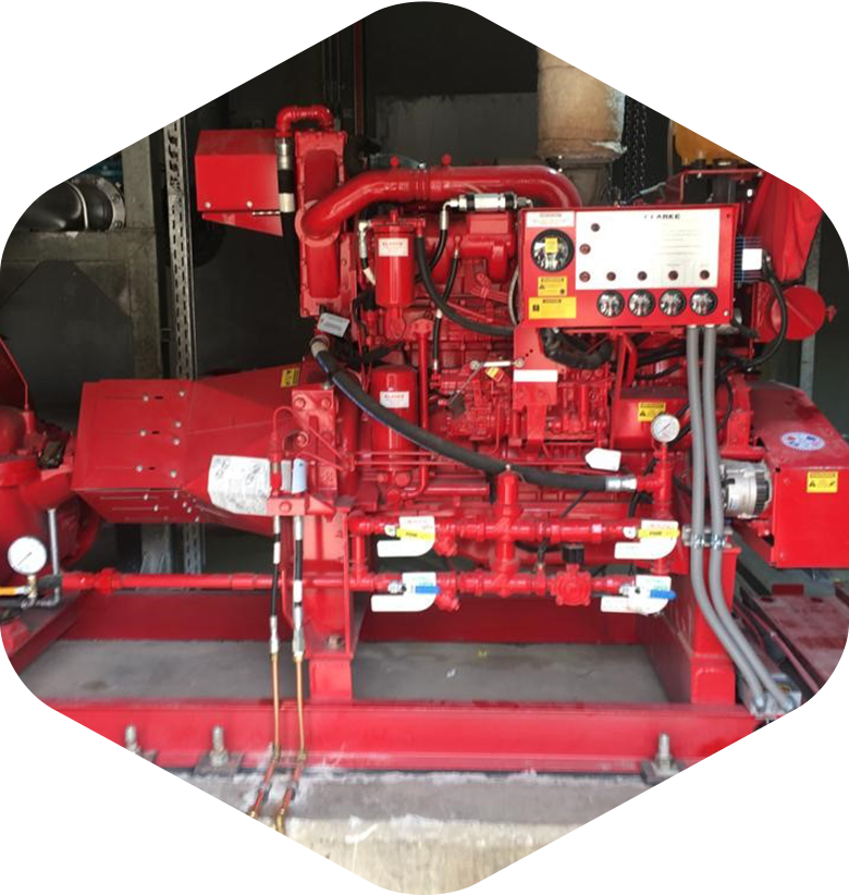 Fire pump service and maintenance